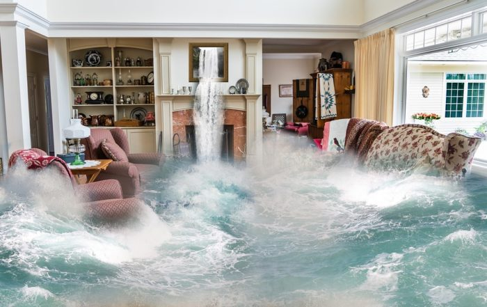 Flooding Living Room Mankato Minnesota