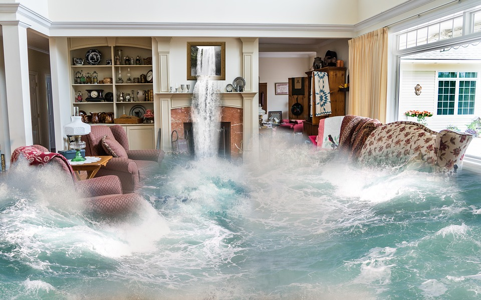Flooding Living Room Mankato Minnesota