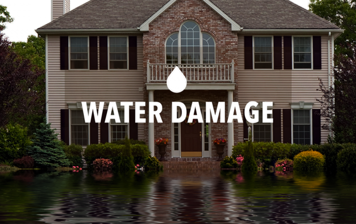 water damage image Mankato Minnesota