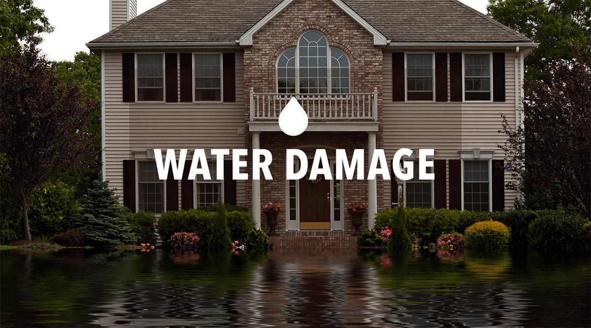 water damage image Mankato Minnesota
